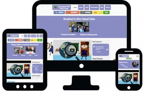 School Animation & Website