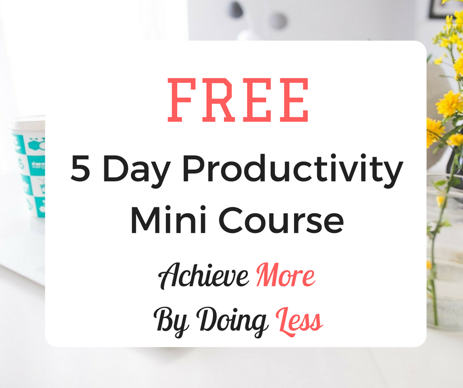 Productivity Mini Course